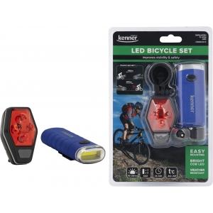 LED jalgrattalambi komplekt (esi+tagatuli)