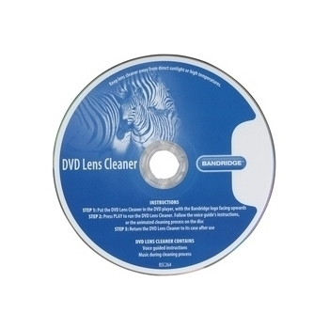 Bandridge BSC264 DVD läätsepuhastus, 4 harja EOL
