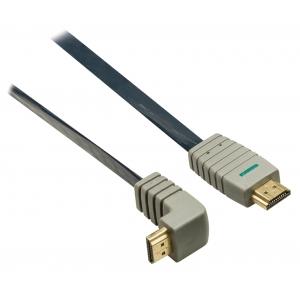 Bandridge BVL1342 HDMI 1.4 A otsik - otsik 90° 2m