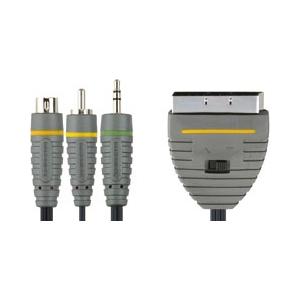 Bandridge BVL6810 3.5/S-video/RCA>SCART(arvuti-telekas)10,0m EOL
