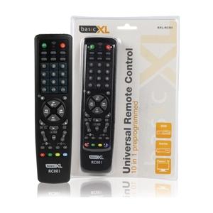 BasicXL universaalpult 10in1 TV/CTV/VCR/DBS/SAT/CBL/HiFi/CD/LD/VCD/DVD EOL