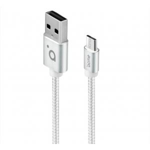 Kaabel Micro USB, 1m, valge