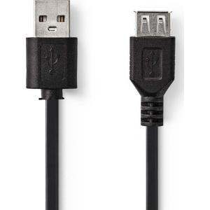 Kaabel USB pistik - USB pesa, 2m