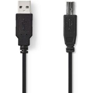 Kaabel USB A otsik - B otsik, 2m