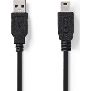 Kaabel USB otsik - mini USB otsik, 2m