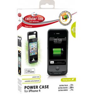 Cellular Line Powercase Iphone4/2s 2400mAh