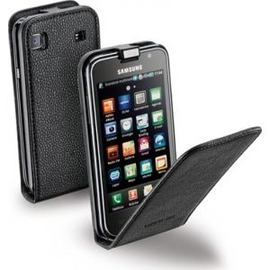 Cellular Samsung Galaxy S I9000 ümbris, Flap (magnetiga), must EOL