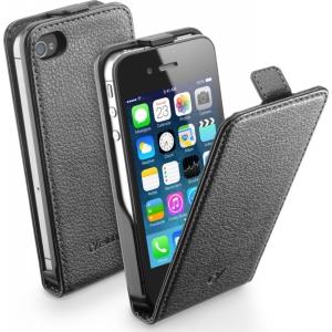 Cellular iPhone 4/4S ümbris, Flap (magnetiga), must EOL