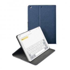 Cellular iPad Air ümbris, Folio, magnetiga, sinine EOL