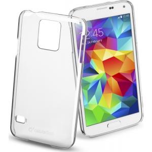 Cellular Samsung Galaxy S5 ümbris + kile, Transparent EOL