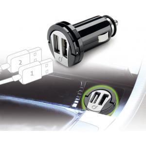 Cellular USB autolaadija 2-le USB-le 12/24V/2A