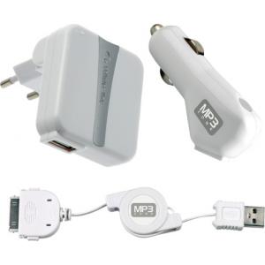 Cellular iPod 3in1 USB laadija