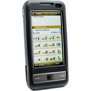 Cellular Samsung Galaxy Note silikoonümbris , must EOL