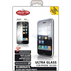 Cellular iPhone 3G ekraanikaitse, ultra klaas EOL