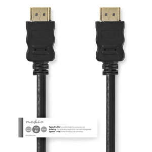 Kaabel nedis HDMI A pistik - HDMI A pistik, 4K@30Hz, 20m