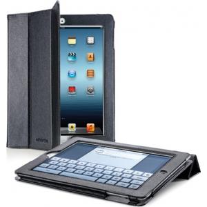 Cellular iPad 2/3 ümbris, kunstnahk, magnetiga, must EOL