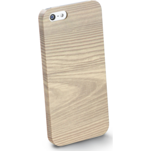 Cellular iPhone 5/5S ümbris, Wood, beež EOL