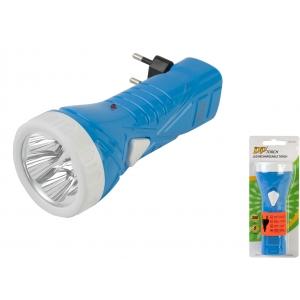 DP laetav taskulamp DP1922 5*LED aku 7h