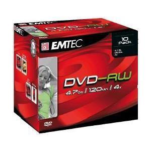 EMTEC DVD-RW 4.7GB 4x jewel EOL