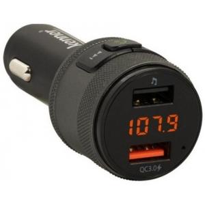 FM-transmitter Bluetooth, Hands-Free, USB