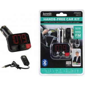FM-transmitter Bluetooth, Hands-Free kit, USB