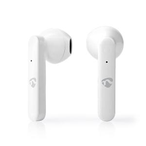 Juhtmevabad kõrvaklapid, Fully Wireless, Bluetooth, valge