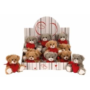 Karu punase südamega 12cm