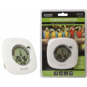 Kenner sisetermomeeter/hügromeeter/kell DT309