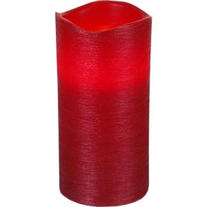 LED küünal LINDA vahast , punane