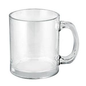 Latte kruus läbipaistev klaas 350ml /6