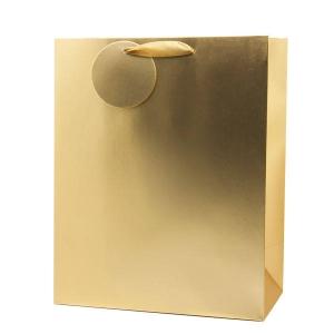 XL kinkekott Gold Matt metallic
