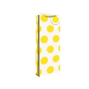 Pudeli kinkekott Yellow Neon