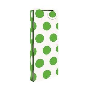 Pudeli kinkekott Green Neon