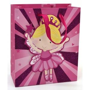L kinkekott Fairy tüdruk roosa