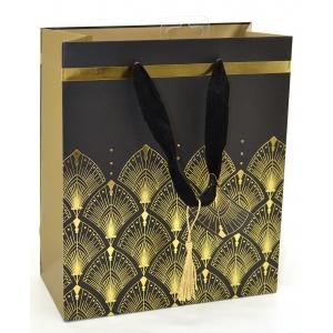 L kinkekott Art Deco Foil Pattern