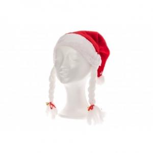 Päkapikumüts Luxus punupatside- ja kellukesega