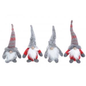 Jõuludekoratsioon Päkapikk Puunina 20cm