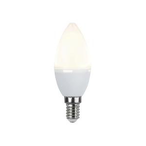 LED Lamp E14 ,4.8 W = 38W, C37 (küünal), 3000K, 440LM 10/100