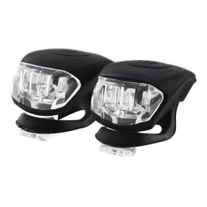 Jalgratta LED-tulede mini komplekt (esi+tagatuli)