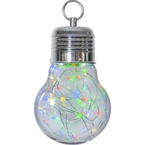 Dekoratsioon Bulby värviline, 30 LED, patareitoide, sisetingimustesse, IP21