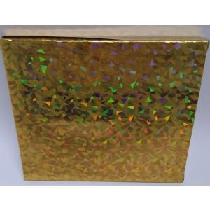 CD kinkekarbid 3tk kuldne (13x15x1,3cm)