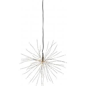 """Rippuv dekoratsioon """"Ilutulestik"""", väike. d 26cm, 120 LED, vooluvõrgust, sisetingimustesse IP20"""