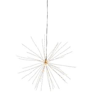 """Rippuv dekoratsioon """"Ilutulestik"""", suur d 50cm, 200 LED, vooluvõrgust, sisetingimustesse IP20"""