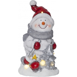 Dekoratsioon Jõulumees, 6 LED, patareitoide