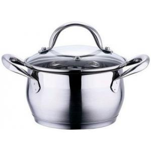 *BG-6291 Pott Gourmet 1,7L d.16cm, h 9,5cm /4 18/10 SS