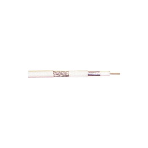 Antennikaabel 6.5mm,valge,100m