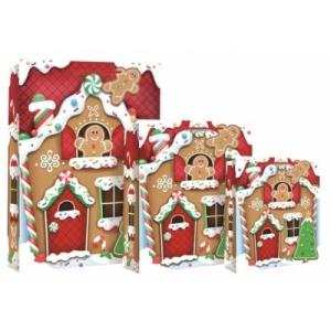 XL kinkekott GingerbreadHouse