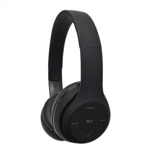 Kõrvaklapid Bluetooth,suured, mustad