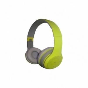 Kõrvaklapid Bluetooth,suured, rohelised