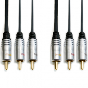 Profigold PGV5305 Composit + audio 3 RCA 5m EOL